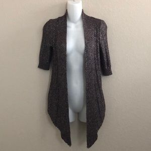 Anthropologie Moth one front cardigan sweater